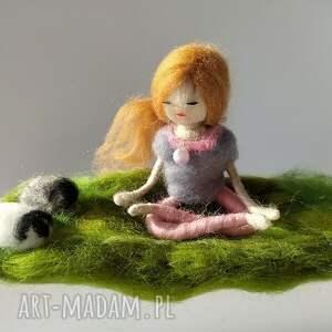 autorskie dekoracje yoga medytacja. Na łonie natury