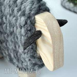 dekoracje wełna merino - australijska owieczka