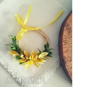 dekoracje mini wianek