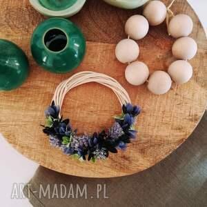 dekoracje: - stroik miniwianek