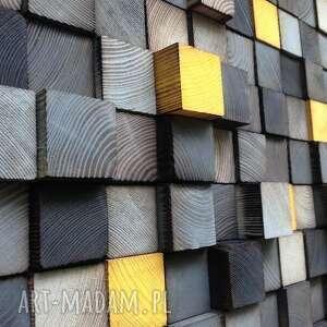 handmade dekoracje obraz mozaika drewniana