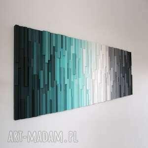 czarne dekoracje mozaika zdjęcia prezentują jedną z naszych realizacji