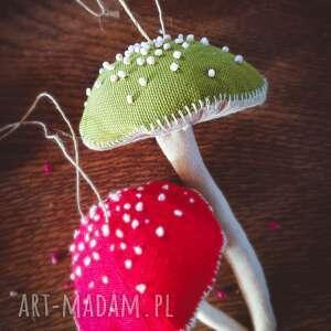 pomysł na święta prezent ozdoby zawieszka muchomorek szyta ręcznie i po części