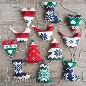 prezent na święta mikołajki dekoracje choinkę zestaw 20