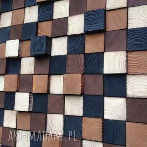 obraz dekoracje czarne drewniany na zamówienie