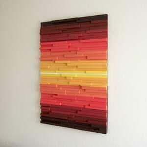 Wood Light Factory dekoracje: mozaika