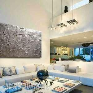 handmade dekoracje obrazy do salonu nowoczesne abstrakcyjne