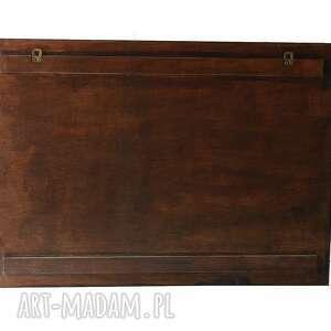 Silva Design Organizer - 63x45 cm, drewniany, wenge wiszacy