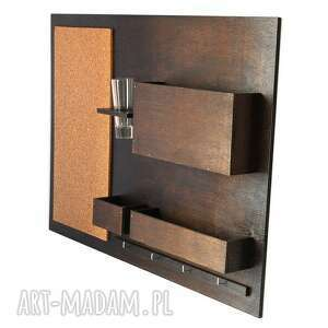 hand made dekoracje organizer - 63x45 cm, drewniany