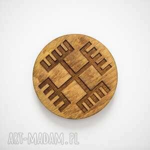 unikalne dekoracje podkładki drewniane podstawki z motywem
