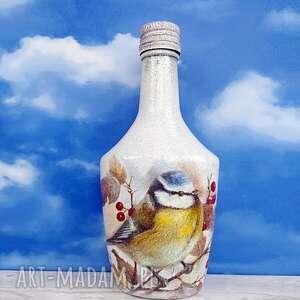 trendy dekoracje ptak ptaki. Sikorka. Dekoracja