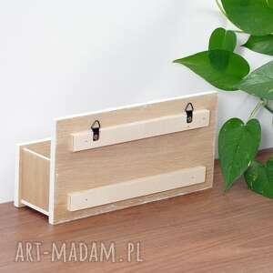 do kuchni dekoracje pudełko na ścianę, organizer