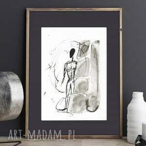 ręcznie wykonane dekoracje malowany, abstrakcja