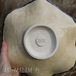 dekoracje dzień babci rustykalna patera ceramiczna