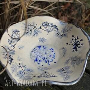 dekoracje rustykalna patera ceramiczna