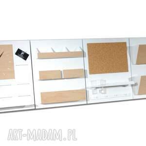 unikalne dekoracje organizer set2 - drewniany nad