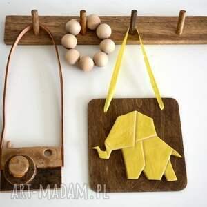 dekoracje ceramiczny słoń