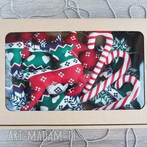 pomysł na upominek na święta mikołaj dekoracje świąteczne zestaw