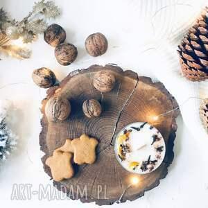 święta prezenty świeca sojowa świąteczna - zapach
