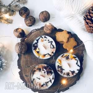 święta prezenty świeca zapachowa sojowa świąteczna - zapach