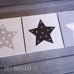 prezenty na święta świecąca świecący obraz led gwiazda prezent