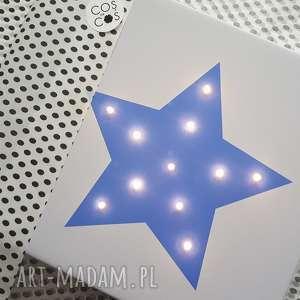 prezenty na święta gwiazda świecący obraz led prezent