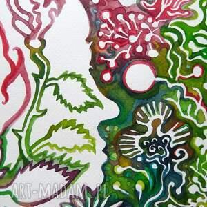 zielnik dekoracje tajemnieczy ogród