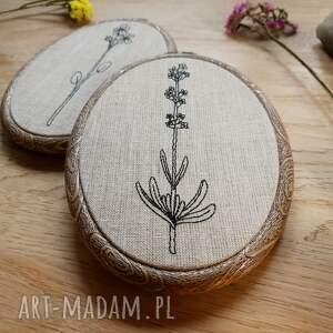 handmade dekoracje obrazek tryptyk kwiatowy