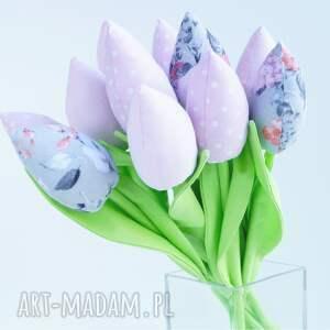 unikatowe dekoracje tulipany bawełniane dekoracja