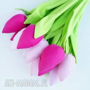 święta prezent tulipany bawełniane dekoracja