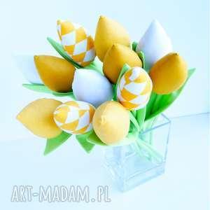 święta prezenty wiosna tulipany 12 szt. wiosenna dekoracja