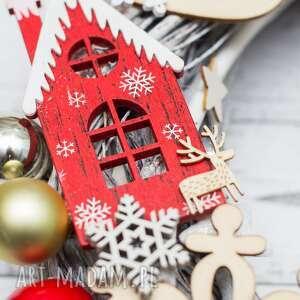 świąteczny prezent wianek wieniec