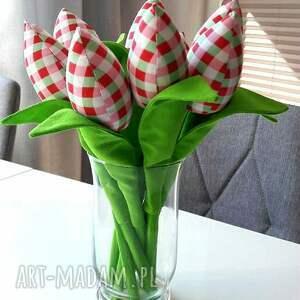 handmade dekoracje tulipany woisenne 8 szt