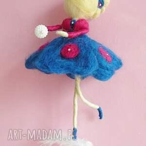 hand made dekoracje prezent wróżka balerina tańcząca
