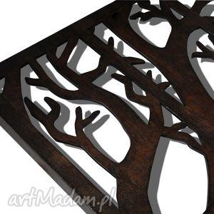 dekoracje tryptyk 100 x 63 cm - z gałęzią