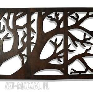 trendy dekoracje 100 x 63 cm - tryptyk z gałęzią