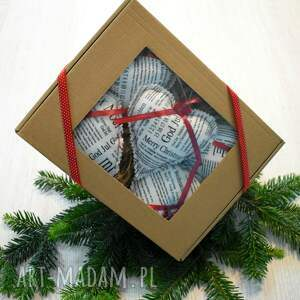 świąteczny prezent zawieszki na choinkę