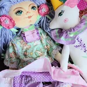 ręcznie robione dekoracje lalka zestaw: 50 cm jednorożec