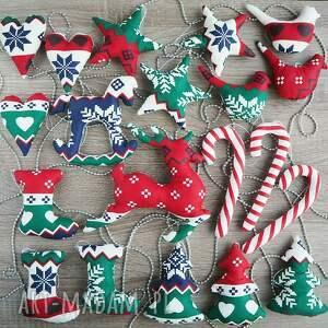pomysł na prezent ozdoby zestaw ozdób świątecznych