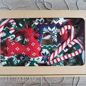 pomysł na prezent zestaw ozdób świątecznych