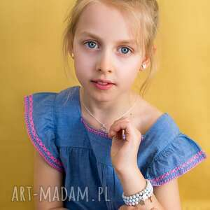 eleganckie dla dziecka bransoletka-słonik bransoletka z perełek swarovskiego