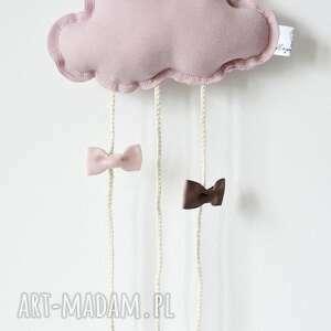 różowe dla dziecka chmurka clipo różowa organizer na