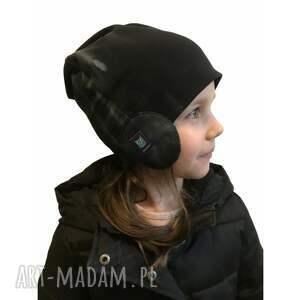 handmade dla dziecka czapka pilotka, 2 rozmiary