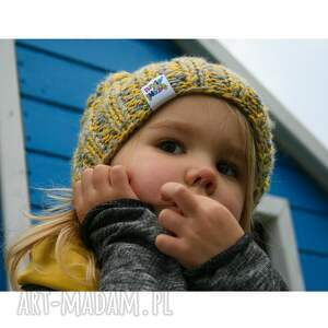 zima dla dziecka niebieskie czapunia ammm mode