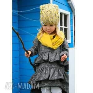efektowne dla dziecka zima model ammm, aż chce się schrupać! czapka
