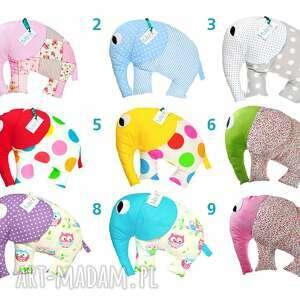 trendy dla dziecka poduszka duża przytulanka słonik od