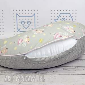 żółte dla dziecka karmienia duża poduszka do