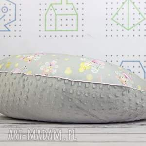poduszka dla dziecka szare duża do karmienia