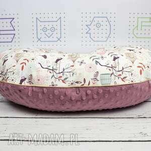 unikalne dla dziecka wyprawka duża poduszka do karmienia ptaszki