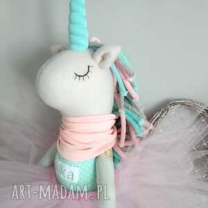 szare pluszak duży jednorożec unicorn